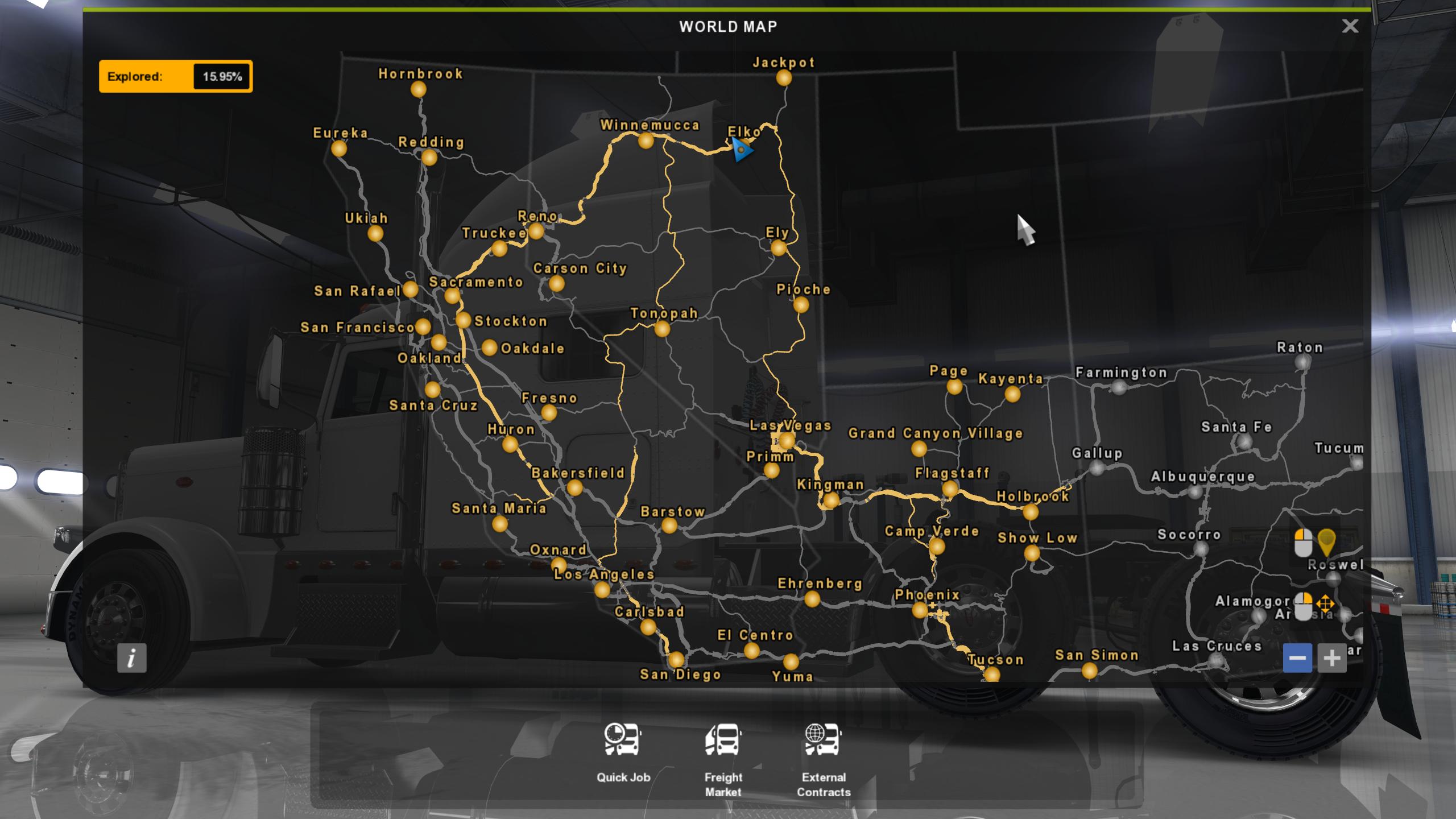 Truck Simulator Concept Maps